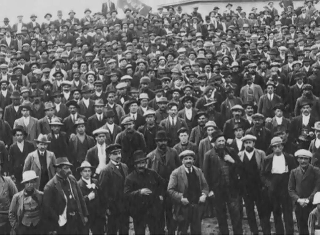 Meeting. Federación Obrera de Magallanes.